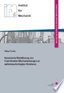 Numerische Modellierung von Fluid-Struktur-Wechselwirkungen an wellenbeaufschlagten Strukturen
