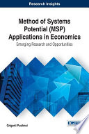 Method of Systems Potential  MSP  Applications in Economics  Emerging Research and Opportunities