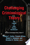 Challenging Criminological Theory