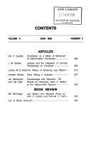 The Adelaide Law Review