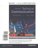 Technical Communication  Books a la Carte Edition