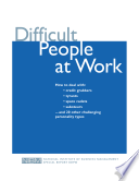 Difficult People at Work