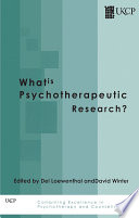What Is Psychotherapeutic Research