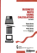 Business Math Using Calculators