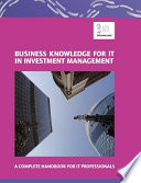 Review Business Knowledge for IT in Investment Management
