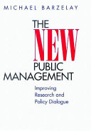 The New Public Management Is A Question That Lies