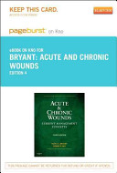 Acute and Chronic Wounds Pageburst on Kno Retail Access Code