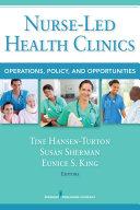 download ebook nurse-led health clinics pdf epub
