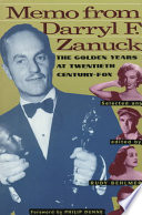 Memo from Darryl F  Zanuck