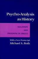 Psycho-analysis as History