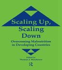 Scaling Up, Scaling Down