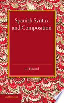 Spanish Syntax And Composition