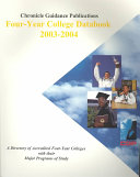 Chronicle Four Year College Databook 2003-2004