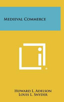 Medieval Commerce