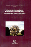 download ebook alternative approaches in multilateral decision making pdf epub