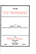 The New Plutocracy