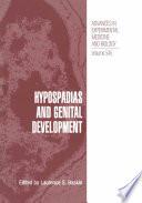 Hypospadias And Genital Development
