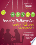 Teaching Mathematics in the Visible Learning Classroom  High School