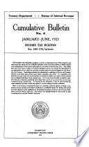 Cumulative Bulletin     Income Tax Rulings