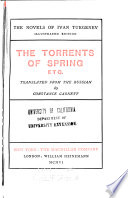 The Torrents of Spring  Etc