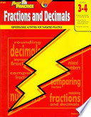 Power Practice  Fractions and Decimals  Gr  3 4  eBook