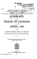 Summary of the Trade of Canada