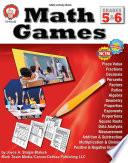Math Games  Grades 5   6
