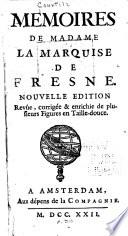 Memoires de Madame la Marquise de Fresne