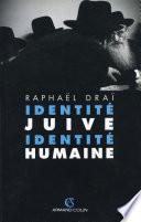Identit   juive  identit   humaine