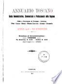 Annuario toscano guida amministrativa  commerciale e professionale della regione