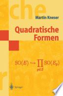 Quadratische Formen