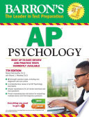 Barron s AP Psychology  7th edition