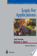 Logic For Applications book