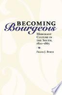 Book Becoming Bourgeois