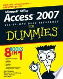 Microsoft Office Access 2007 All in One Desk Reference For Dummies