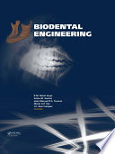 Biodental Engineering Free download PDF and Read online