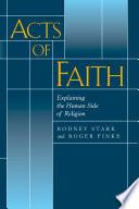 illustration du livre Acts of Faith