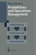 Produktions- und Operationsmanagement