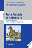 From Animals to Animats 13