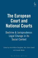 The European Court and National Courts  doctrine and Jurisprudence