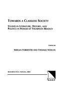 Towards a Classless Society