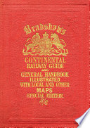 Bradshaw   s Continental Railway Guide  full edition