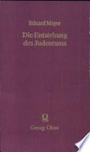 Die Entstehung des Judentums