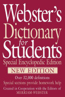 Webster s Dictionary for Students