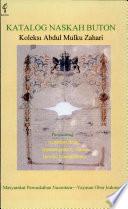 Katalog naskah Buton koleksi Abdul Mulku Zahari