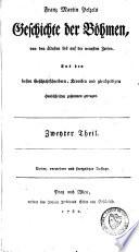 Geschichte der Böhmen