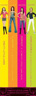 Pretty Little Liars 4 Book Collection Books 1 4 book
