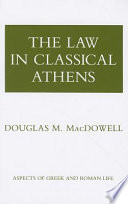 The Law in Classical Athens