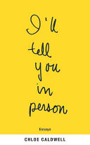 I ll Tell You in Person