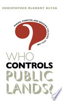 Who Controls Public Lands